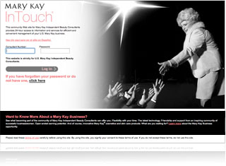 InTouch® is your network to the Mary Kay world.