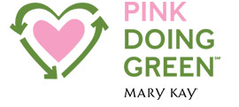 Mary Kay Pink Doing Green logo.