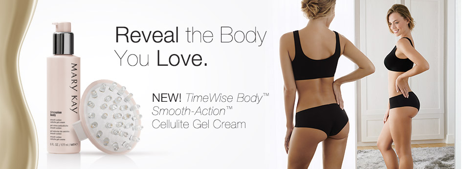 Discover the real results of NEW TimeWise Body™ Smooth-Action™ Cellulite Gel Cream